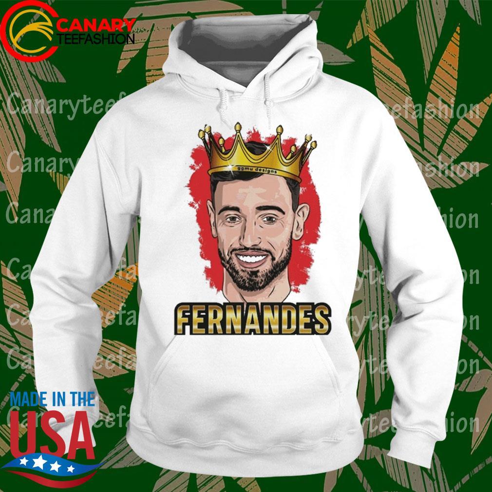 Bruno Fernandes Portuguese footballer s hoodie