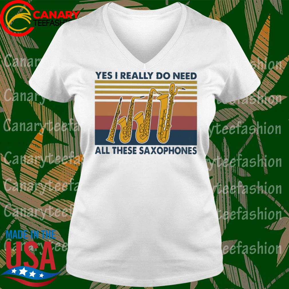 Yes I really do need all these Saxophones vintage s Ladytee