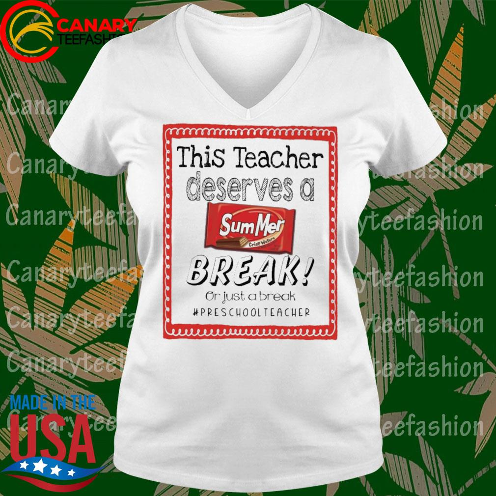 This Teacher Principal Deserves a Summer Break or just a break #Preschool Teacher s Ladytee