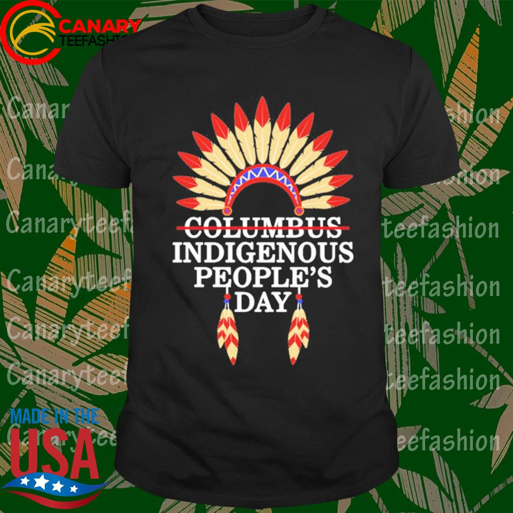 Indigenous People's Day Not Columbus Day Native American October 12Th Celebration Gift T-Shirt Masswerks Store