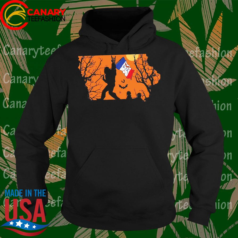 Bigfoot flag Lowa Halloween s Hoodie