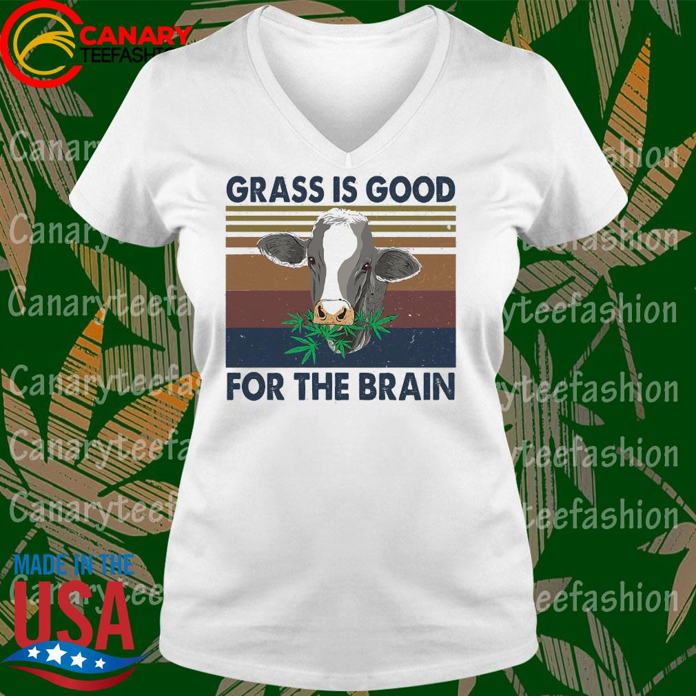 Grass is good for the brain vintage s Ladytee