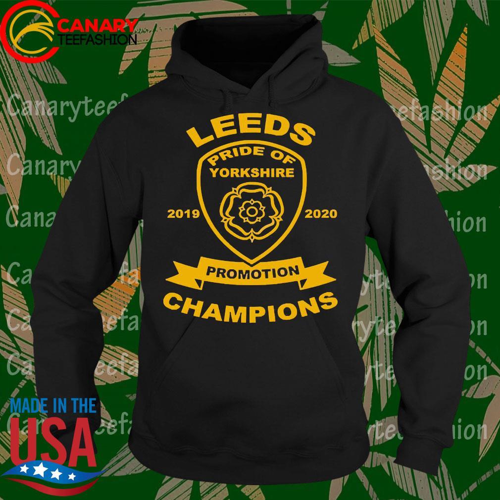 Leeds pride of yorkshire 2019 2020 promotion Champions s Hoodie