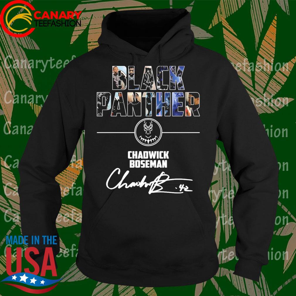 Chadwick Boseman Black Panther signature s Hoodie