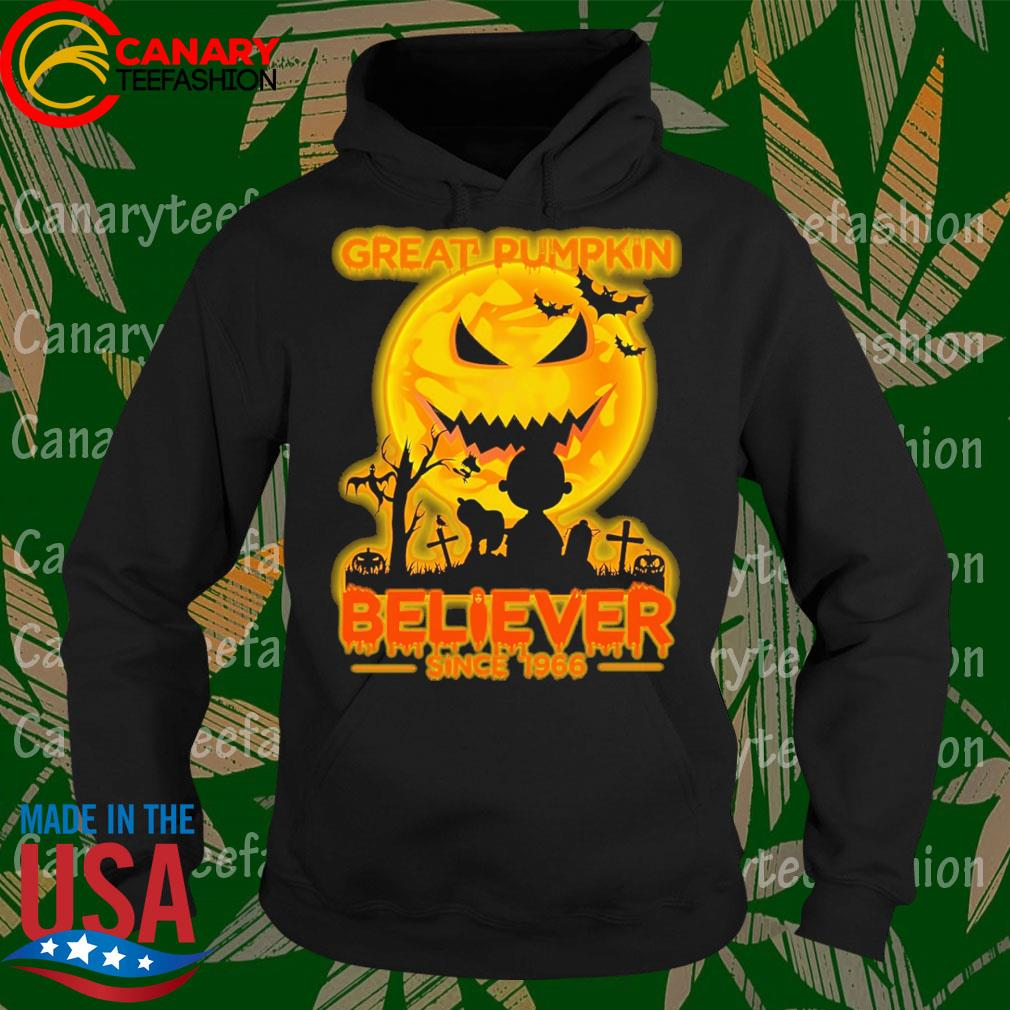 Halloween Great Pumpkin Believer since 1966 s Hoodie