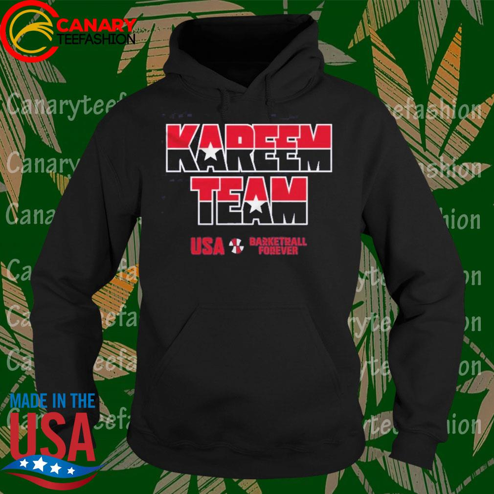 Kareem Team USA basketball forever s Hoodie