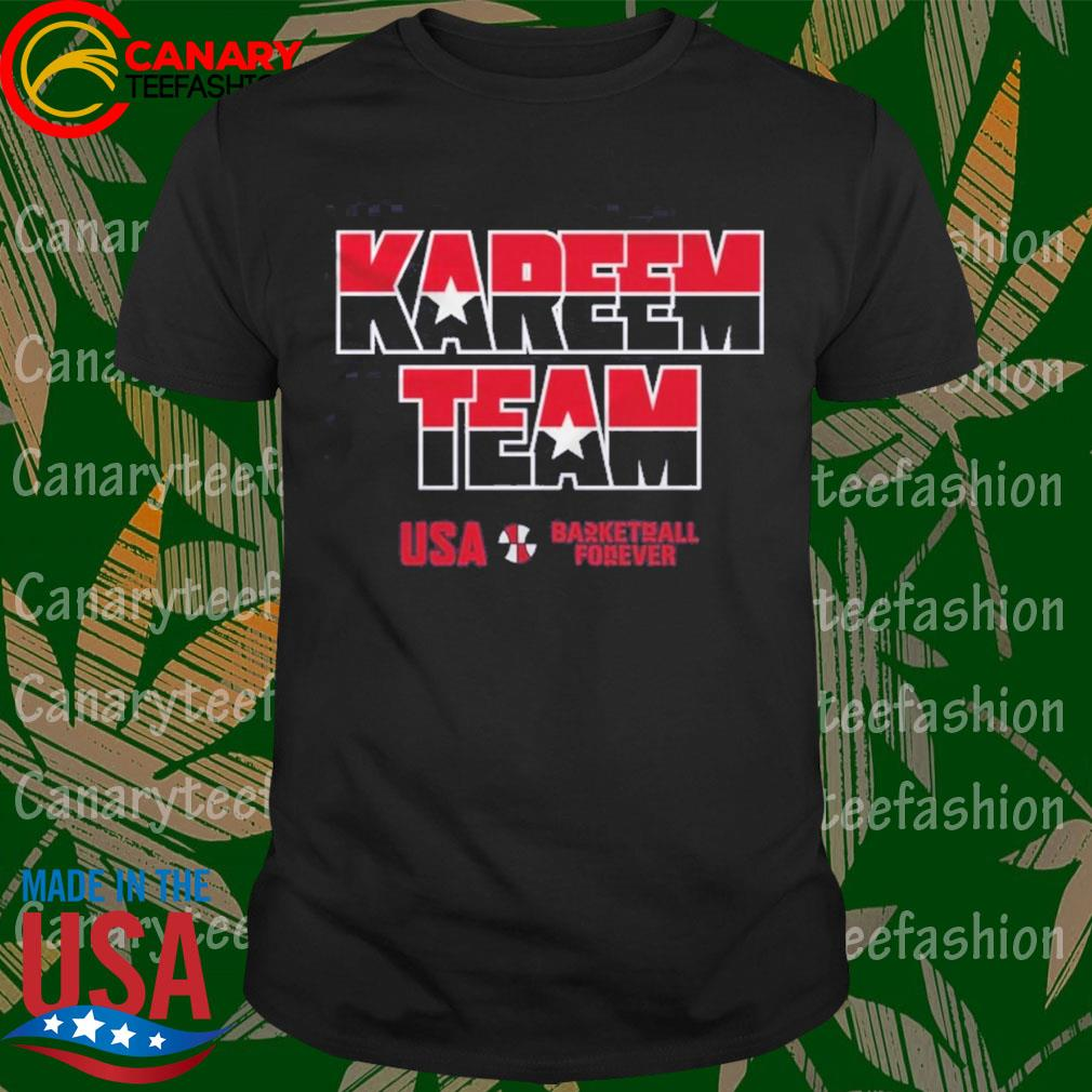 Kareem Team USA basketball forever shirt