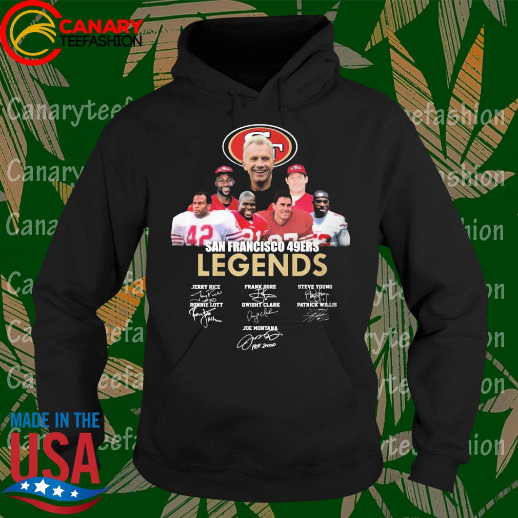 San Francisco 47ers Legends signatures s Hoodie