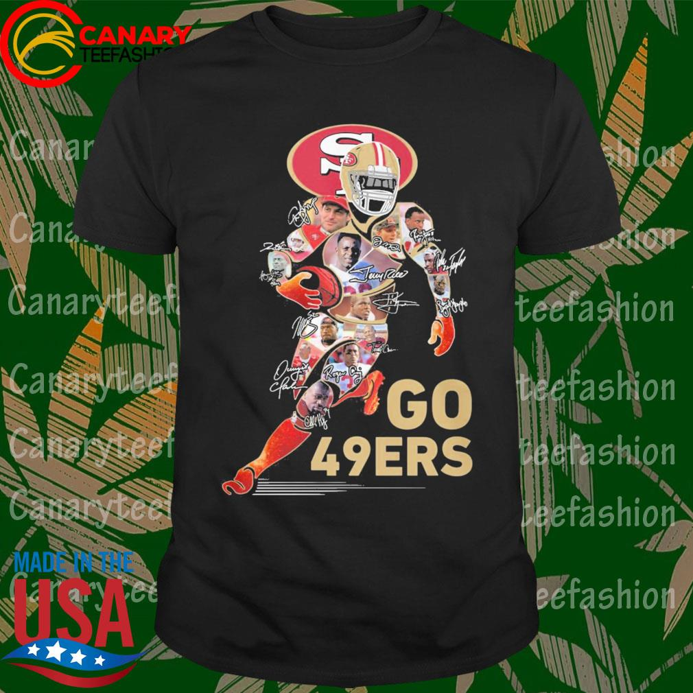 San Francisco Go 47ers signatures shirt