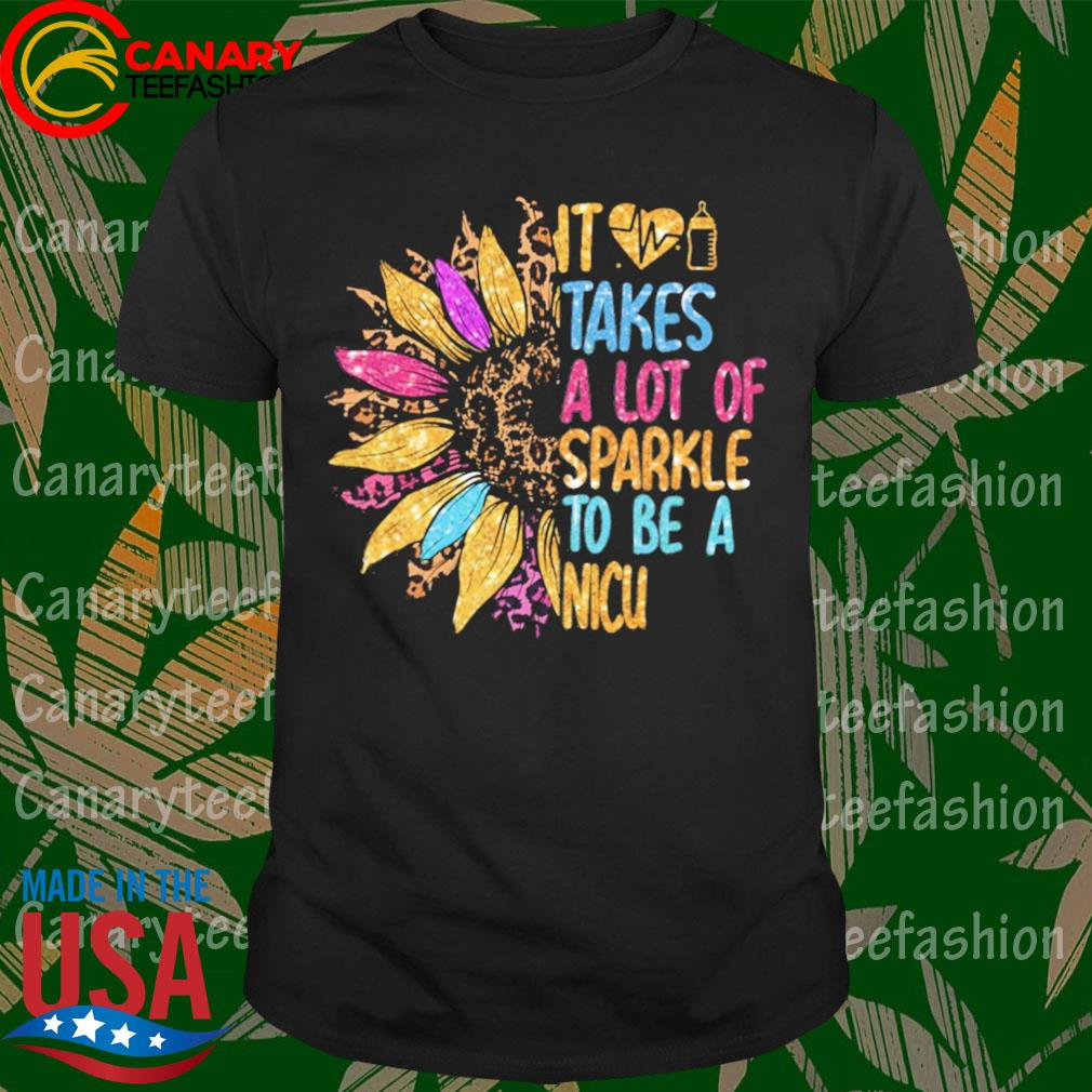 Sunflower it takes a lot of sparkle to be a Nicu diamond shirt