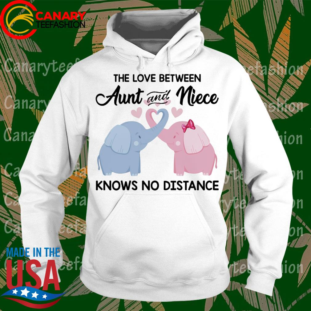 The Love between Aunt and Niece Knows no distance s hoodie