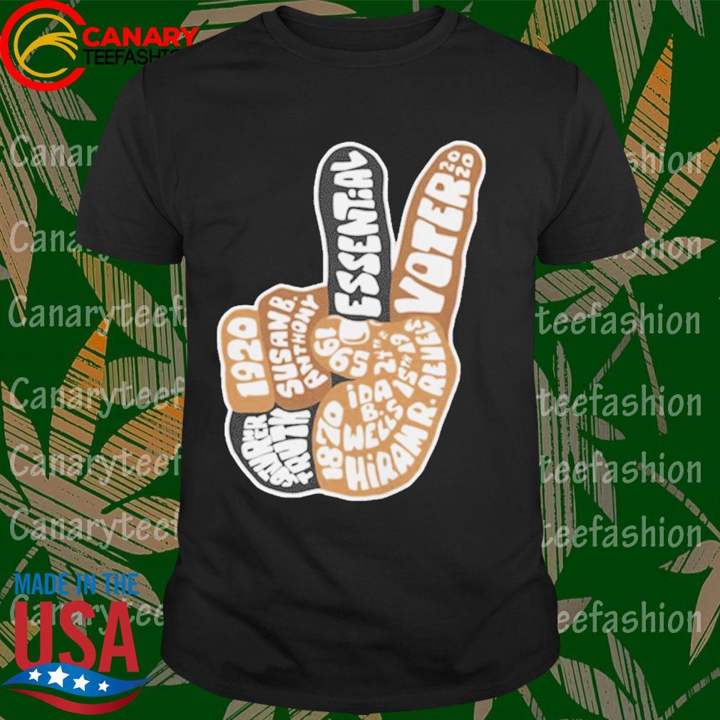 195 essential merch essential voter 2020 neck gaiter shirt