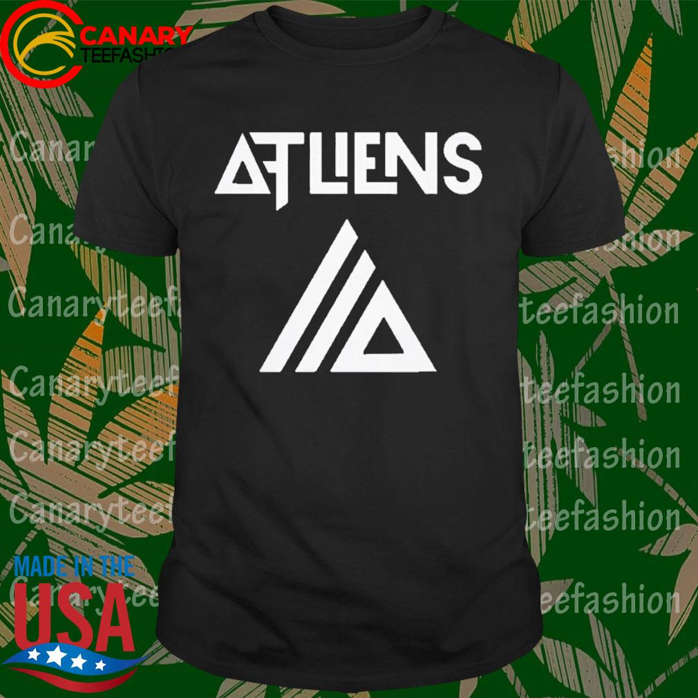 Atliens merch galaxy logo baseball shirt