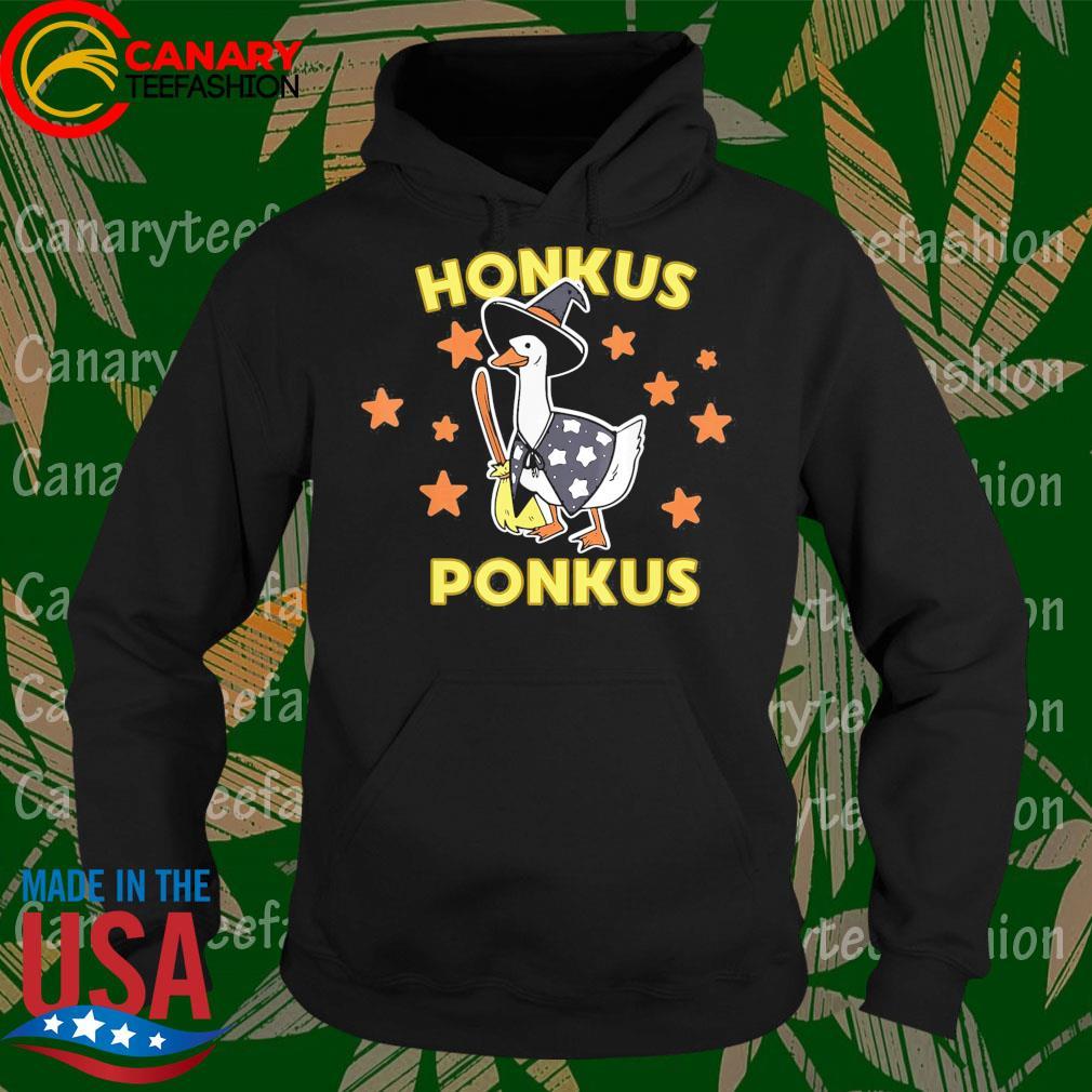 Funny Halloween Witches Honk Goose Cute Honkus Ponkus Gifts s Hoodie