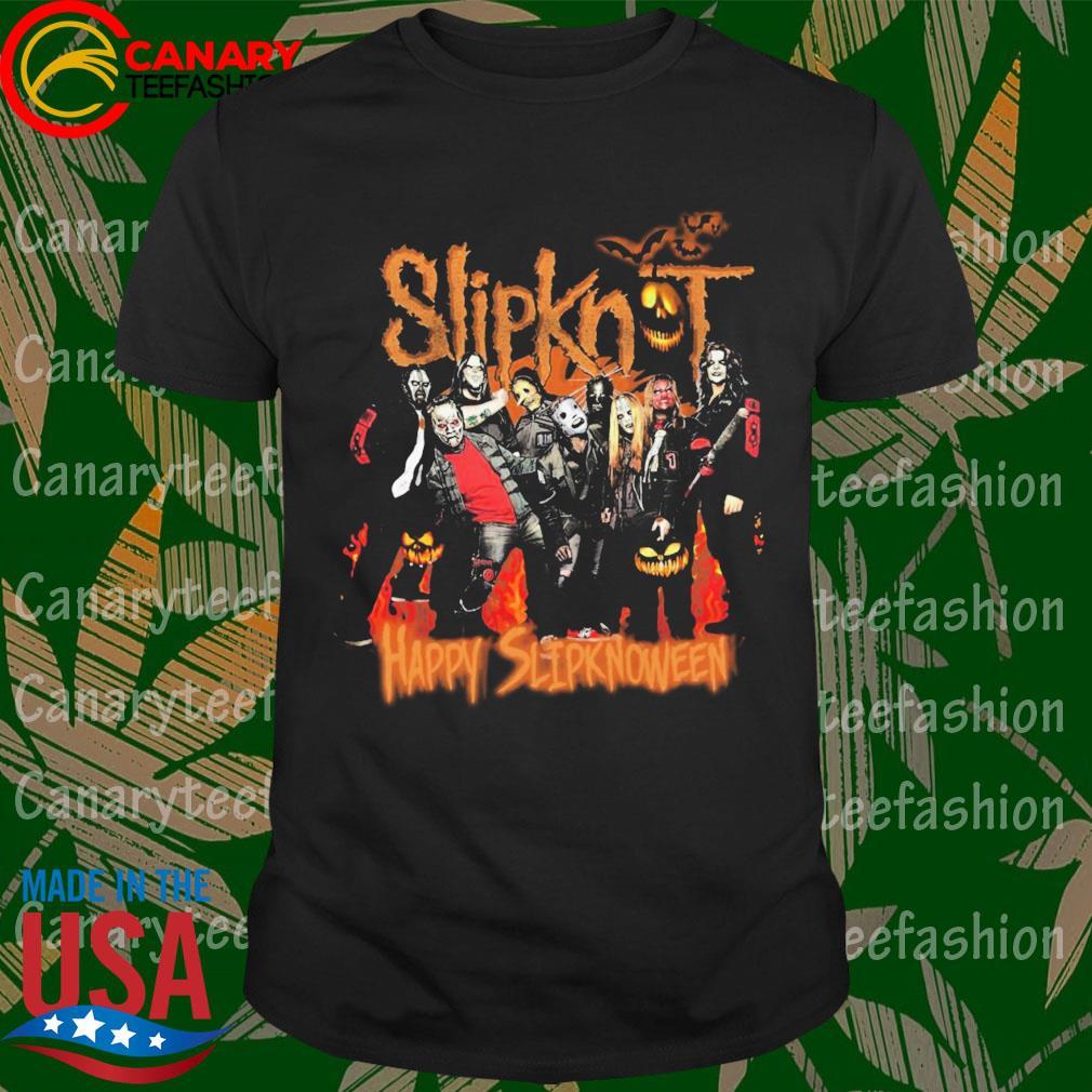 Halloween Slipknot Happy Slupknoween shirt
