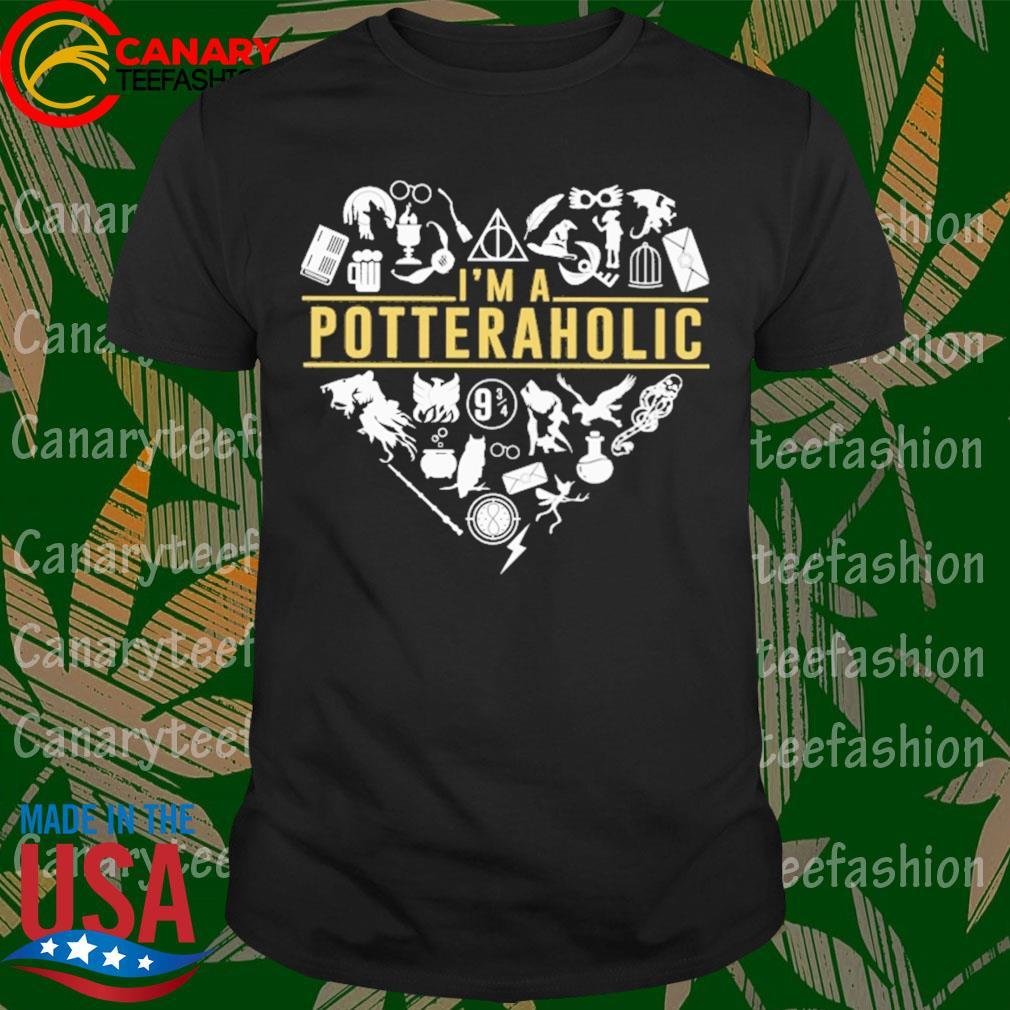 I'm a potter aholic Heart shirt
