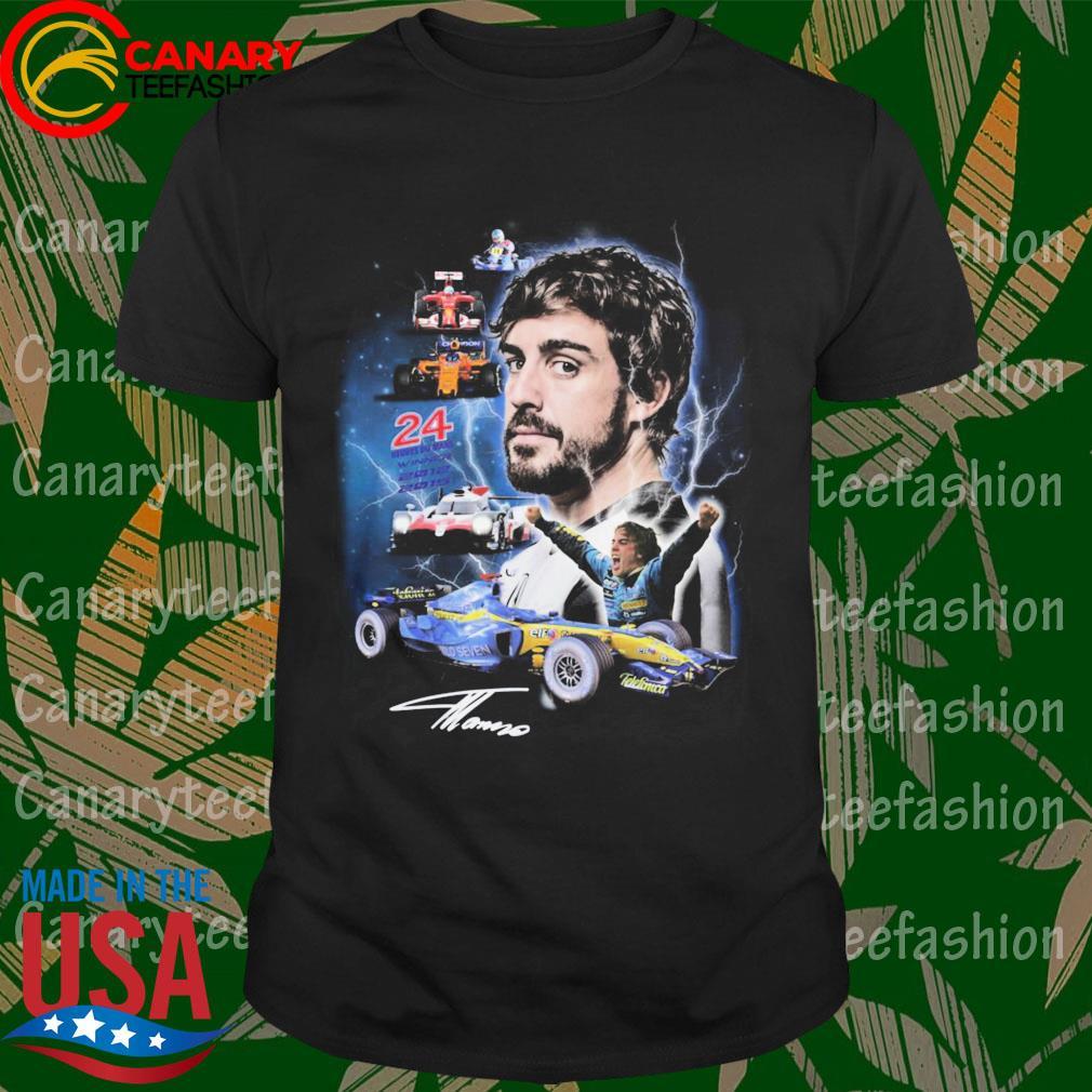 Jean-Eric Vergne 24 heures du mans winner 2012 2015 signature shirt