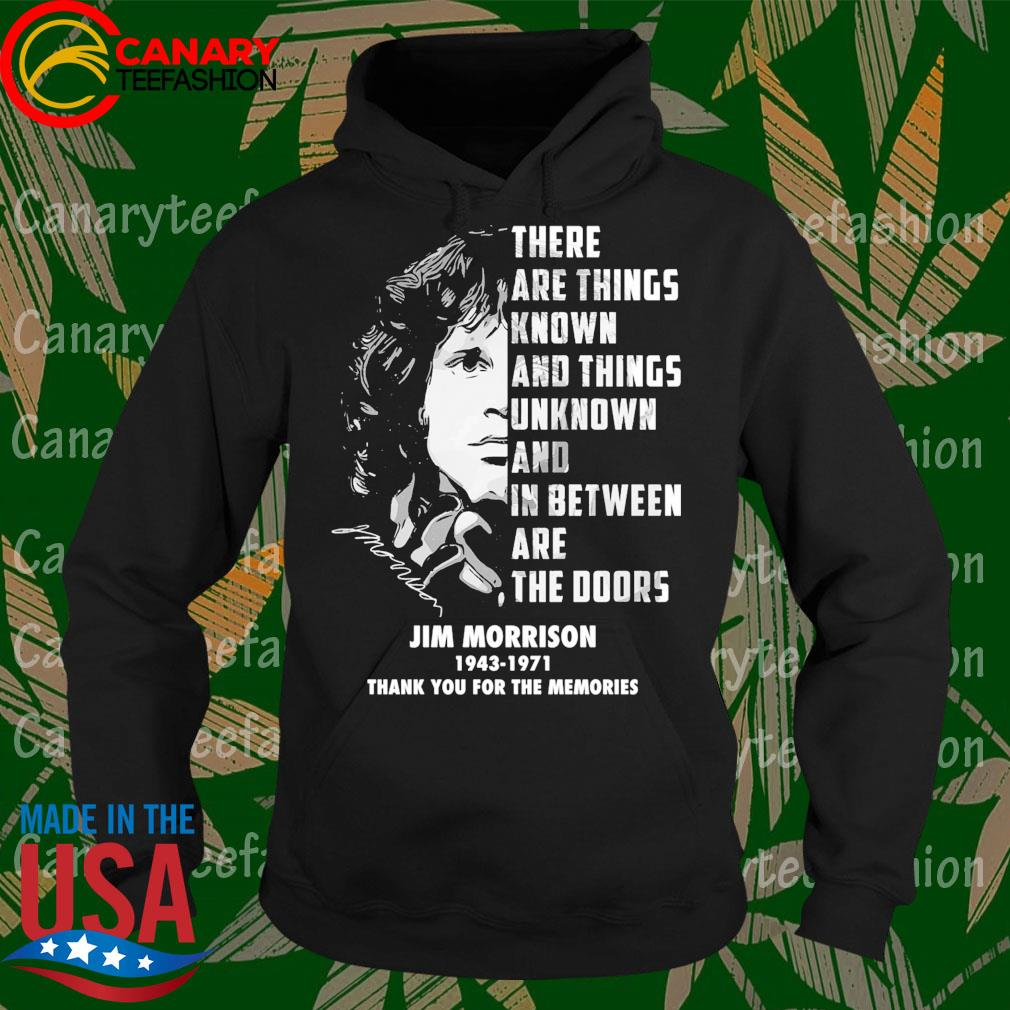 Jim Morrison 1943 1971 thank you for the memories s Hoodie
