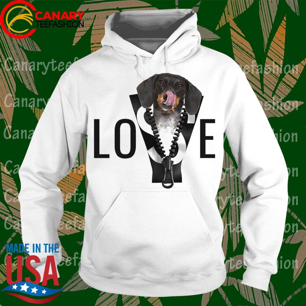 Love Dachshund s hoodie