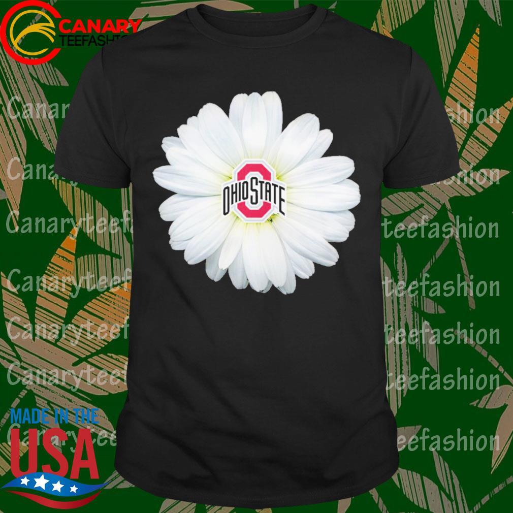 Ohio State Buckeyes Flower shirt