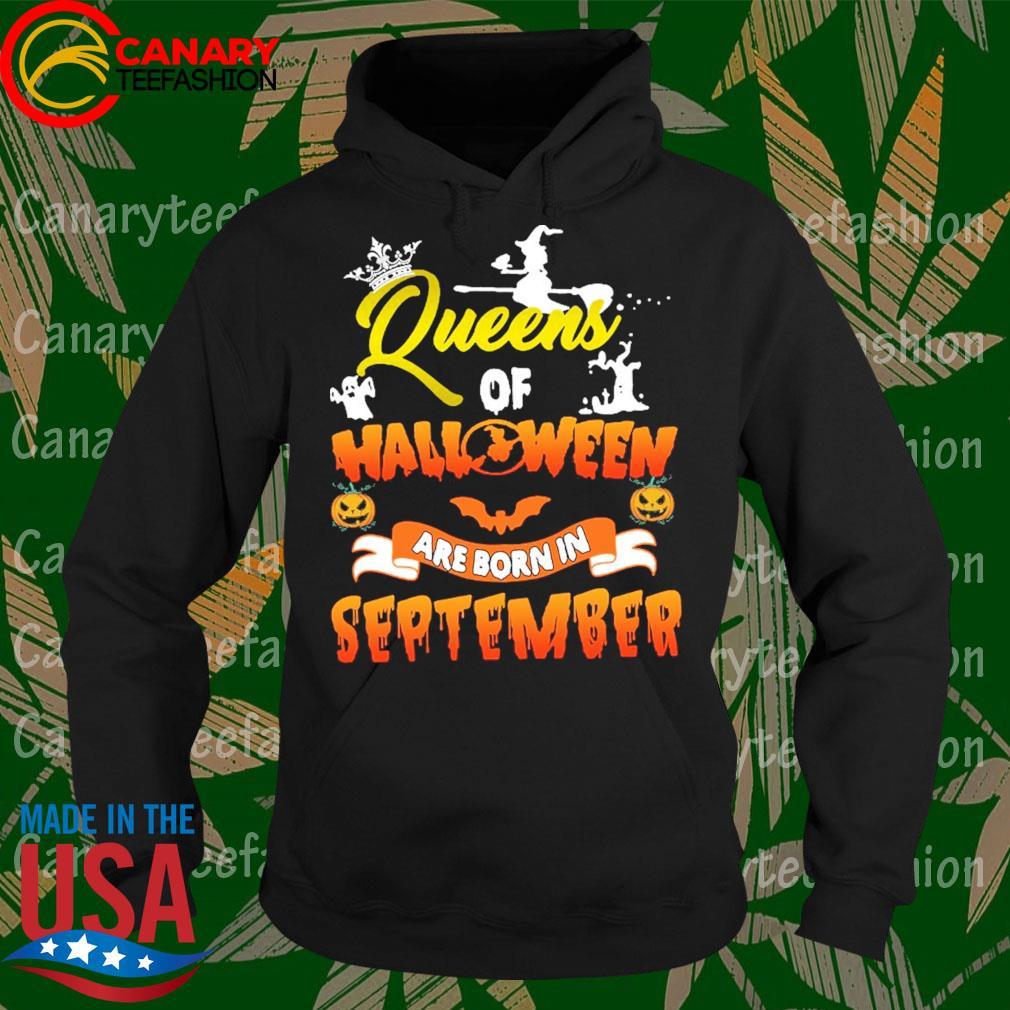 Queens of Halloween are born in September s Hoodie