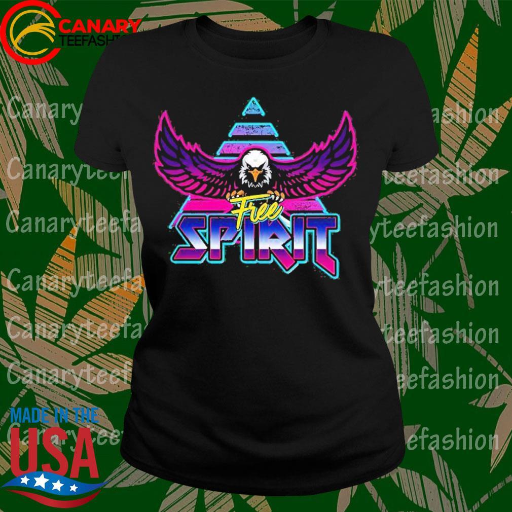 Free Spirit Eagle 80s Rock Band Style Shirt LadyTee