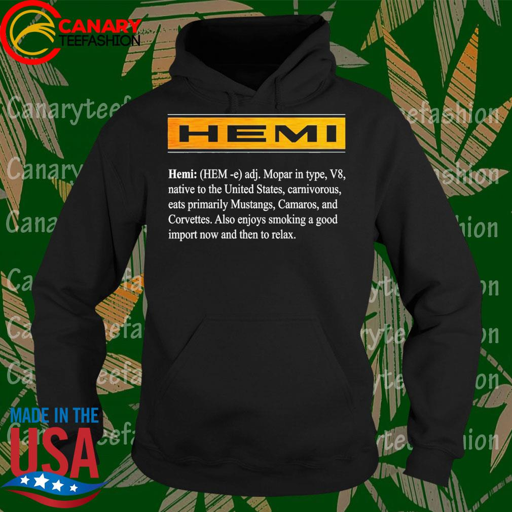 Hemi mopar in type V8 native to the United States s Hoodie