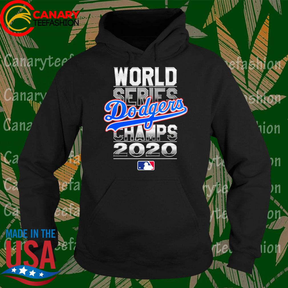 MLB world series Los Angeles Dodgers Champs 2020 s Hoodie