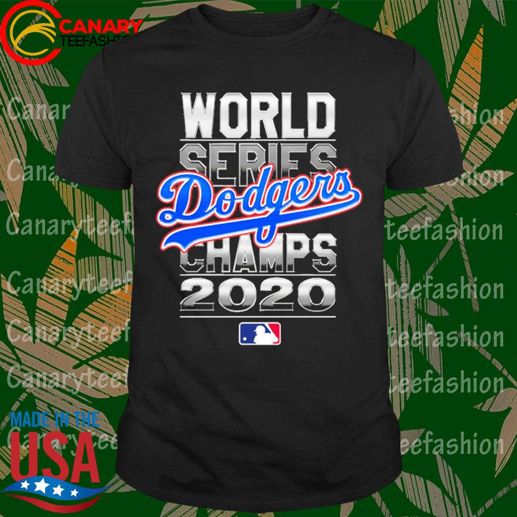 MLB world series Los Angeles Dodgers Champs 2020 shirt