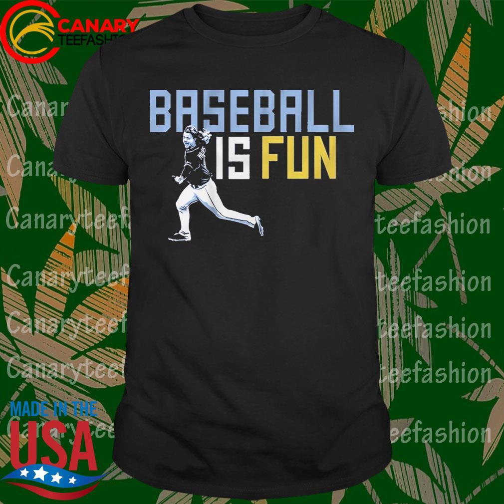 Official Brett Phillips Baseball is Fun shirt