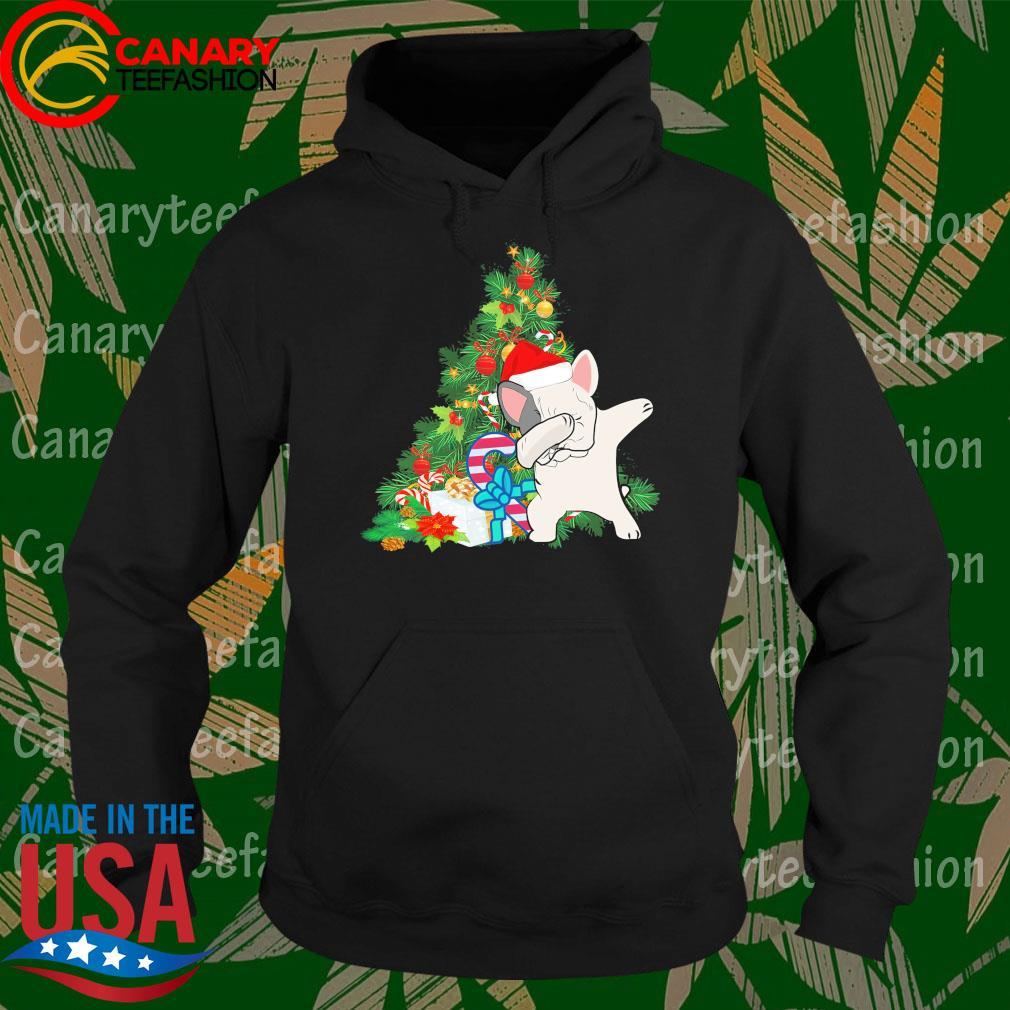 Pug Dabbing Santa Christmas Tree s Hoodie