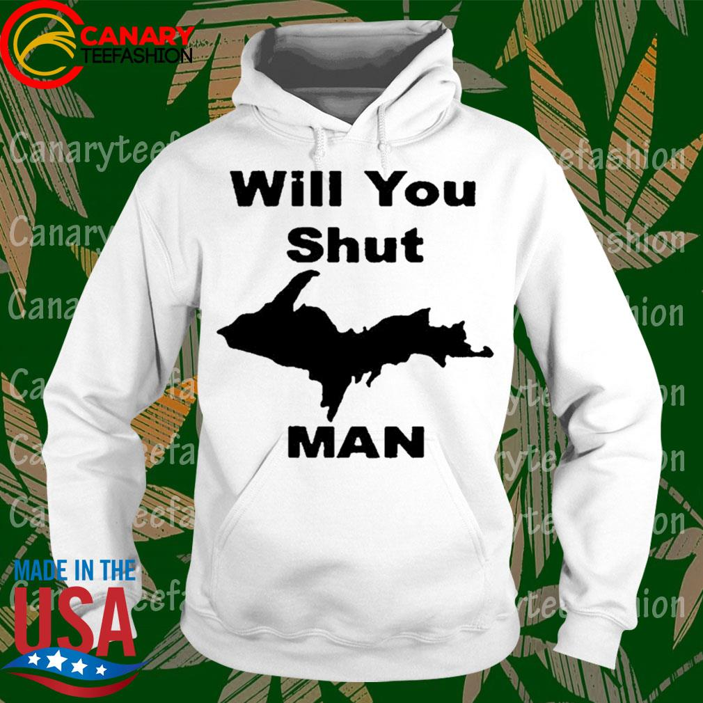 #Willyoushutupman - Will you shut up Man s hoodie