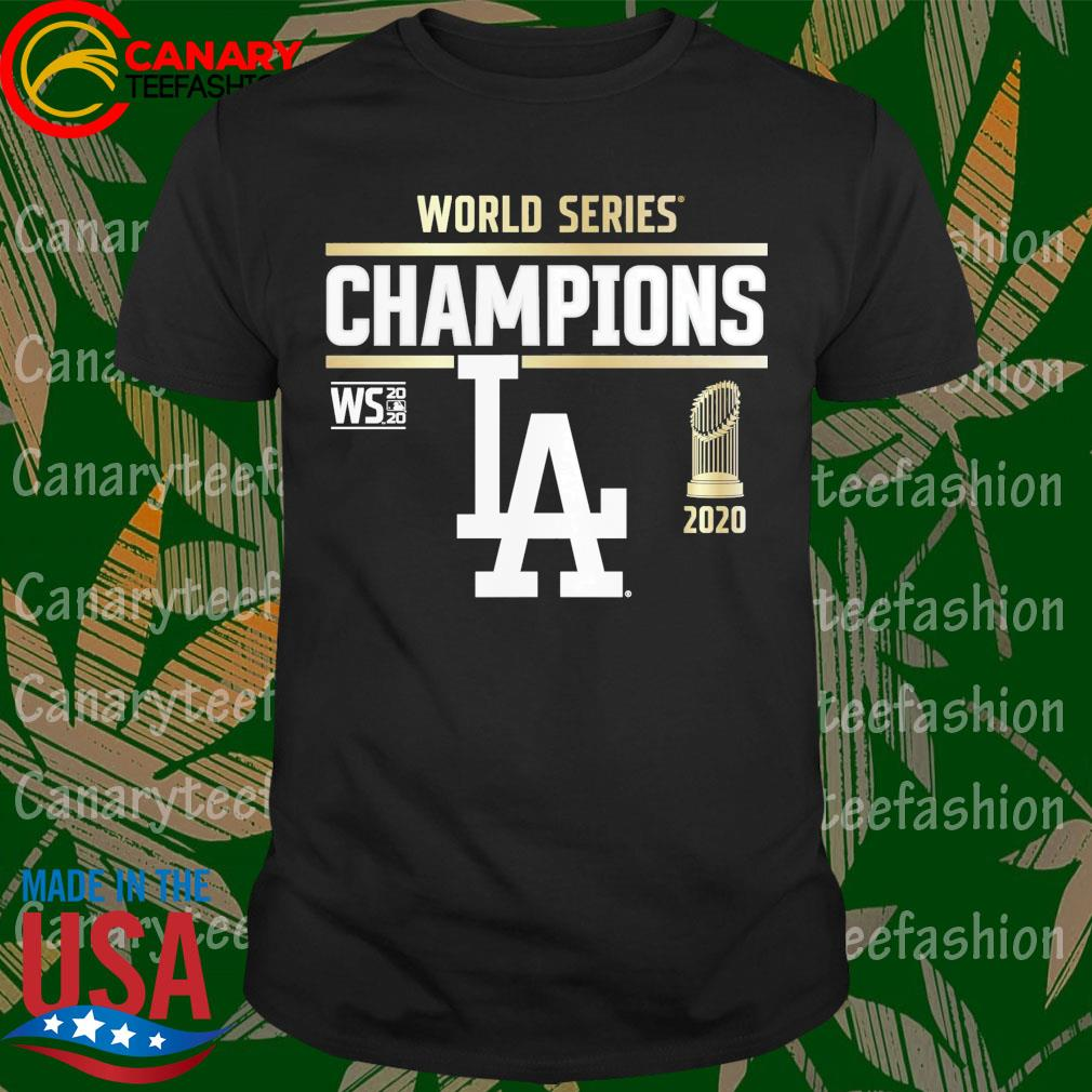 World Series Champions Los Angeles Dodgers 2020 shirt
