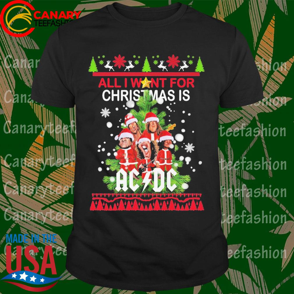 All I want for Christmas is AC DC sweater