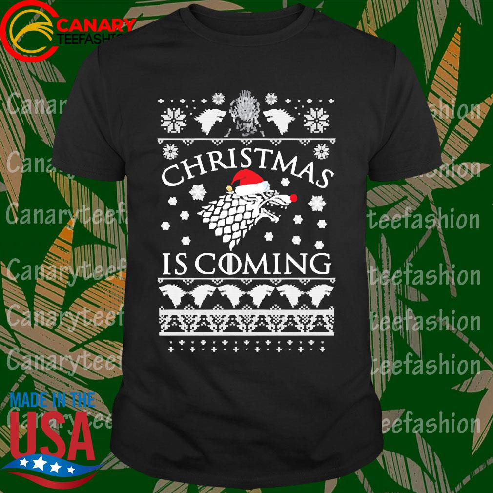 Game of Thrones Winter Christmas is coming Ugly christmas sweater