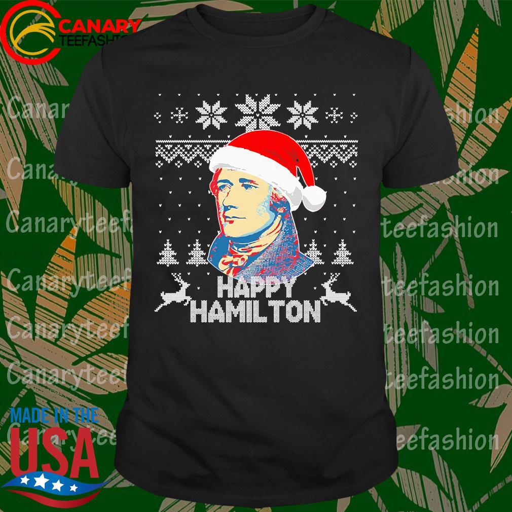 Happy Hamilton Ugly christmas sweater